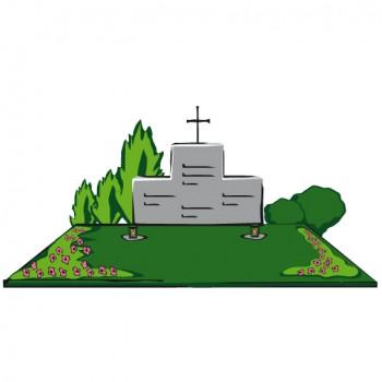 Familiengrab mit 3 Grabstellen