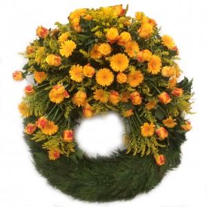 Bouquetkranz orange ø 70 cm